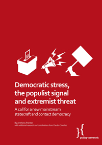 demcratic stress, the populist signal and extremist threat
