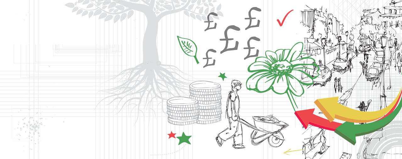 social investment Illustration