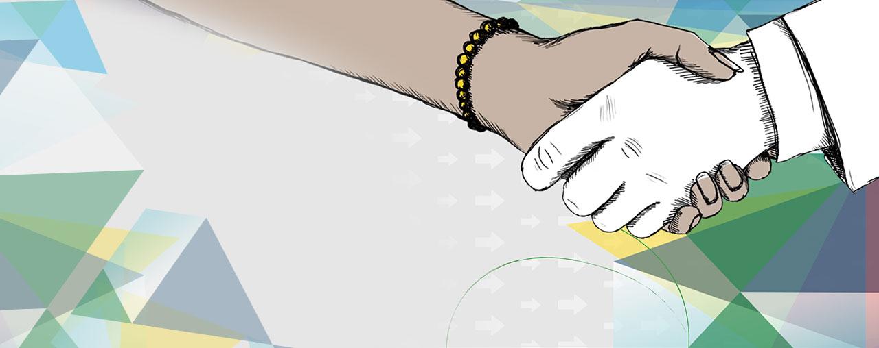 strengthening the hands illustration